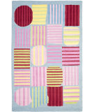 RugStudio presents Safavieh Kids Sfk312a Blue / Multi Hand-Hooked Area Rug