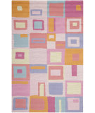 RugStudio presents Safavieh Kids SFK317A Pink / Multi Hand-Hooked Area Rug