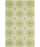 RugStudio presents Safavieh Kids SFK319A Beige / Green Hand-Hooked Area Rug