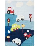 RugStudio presents Safavieh Kids SFK411A Blue / Multi Area Rug