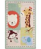 RugStudio presents Safavieh Kids SFK414A Ivory / Sage Area Rug