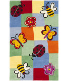 RugStudio presents Safavieh Kids Sfk753a Multi Hand-Hooked Area Rug