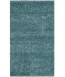 RugStudio presents Safavieh Milan Shag Sg180-6060 Aqua Blue Area Rug