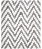 RugStudio presents Safavieh Shag SG250C Ivory / Grey Area Rug