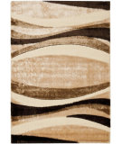 RugStudio presents Safavieh Miami Shag Sg351-1391 Beige / Multi Area Rug
