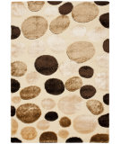 RugStudio presents Safavieh Miami Shag Sg352-1191 Cream / Multi Area Rug