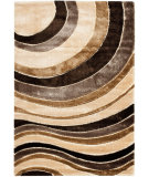 RugStudio presents Safavieh Miami Shag Sg355-1391 Beige / Multi Area Rug