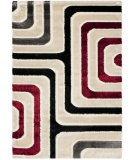 RugStudio presents Safavieh Miami Shag Sg360-1391 Beige / Multi Area Rug