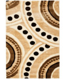 RugStudio presents Safavieh Miami Shag Sg363-1391 Beige / Multi Area Rug
