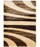 RugStudio presents Safavieh Miami Shag Sg364-1391 Beige / Multi Area Rug
