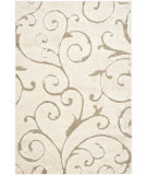 RugStudio presents Safavieh Florida Shag Sg455-1113 Cream / Beige Area Rug