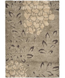 RugStudio presents Safavieh Florida Shag Sg456-7928 Smoke / Dark Brown Area Rug