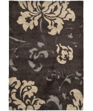 RugStudio presents Safavieh Florida Shag Sg458-2879 Dark Brown / Smoke Area Rug