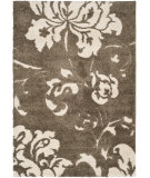 RugStudio presents Safavieh Florida Shag Sg458-7913 Dark Brown / Smoke Area Rug