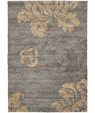RugStudio presents Safavieh Florida Shag Sg458-8013 Grey / Beige Area Rug