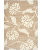 RugStudio presents Safavieh Florida Shag Sg459-1311 Beige / Cream Area Rug