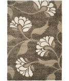 RugStudio presents Safavieh Florida Shag Sg459-7913 Smoke / Beige Area Rug