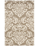 RugStudio presents Safavieh Florida Shag Sg460-1311 Beige / Cream Area Rug