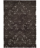 RugStudio presents Safavieh Florida Shag Sg460-2879 Dark Brown / Smoke Area Rug