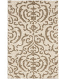 RugStudio presents Safavieh Florida Shag Sg462-1113 Cream / Beige Area Rug