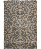RugStudio presents Safavieh Florida Shag Sg462-8013 Grey / Beige Area Rug