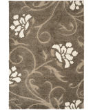 RugStudio presents Safavieh Florida Shag Sg464-7913 Smoke / Beige Area Rug