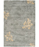 RugStudio presents Safavieh Florida Shag Sg464-8013 Grey / Beige Area Rug