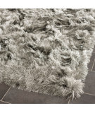RugStudio presents Safavieh Paris Shag Sg511-7575 Silver Area Rug