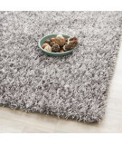 RugStudio presents Safavieh Paris Shag Sg531-8080 Grey Area Rug