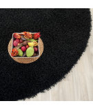 RugStudio presents Safavieh Shag Sg851b Black Hand-Tufted, Better Quality Area Rug