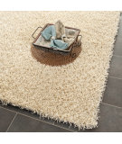 RugStudio presents Safavieh Shag Sg851c Creme Hand-Tufted, Better Quality Area Rug