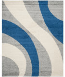 RugStudio presents Safavieh Shag Sg914-8065 Grey / Blue Area Rug
