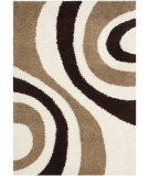RugStudio presents Safavieh Shag Sg915-1225 Ivory / Brown Area Rug