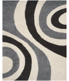 RugStudio presents Safavieh Shag Sg915-1280 Ivory / Grey Area Rug
