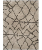 RugStudio presents Safavieh Belize Shag Sgb482d Taupe / Grey Area Rug
