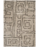 RugStudio presents Safavieh Belize Shag Sgb487d Taupe / Grey Area Rug