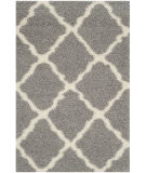 RugStudio presents Safavieh Dallas Shag Sgd257g Grey - Ivory Area Rug