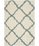 RugStudio presents Safavieh Dallas Shag Sgd257j Ivory - Light Blue Area Rug