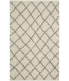 RugStudio presents Safavieh Dallas Shag Sgd258f Ivory - Grey Area Rug