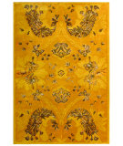 RugStudio presents Rugstudio Sample Sale 61150R Gold Hand-Tufted, Best Quality Area Rug