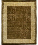 RugStudio presents Safavieh Silk Road Skr211a Chocolate / Light Gold Hand-Tufted, Best Quality Area Rug