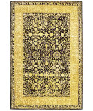 RugStudio presents Safavieh Silk Road Skr213b Black / Ivory Hand-Tufted, Best Quality Area Rug