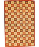 RugStudio presents Safavieh Soho So117a Ivory / Rust Hand-Tufted, Better Quality Area Rug