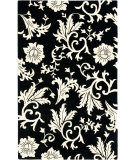 RugStudio presents Safavieh Soho Soh212a Black / Ivory Hand-Tufted, Better Quality Area Rug