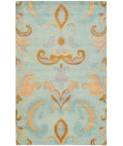 RugStudio presents Safavieh Soho Soh215a Light Blue / Multi Hand-Tufted, Better Quality Area Rug