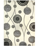 RugStudio presents Safavieh Soho Soh249a Ivory / Grey Hand-Tufted, Better Quality Area Rug