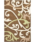 RugStudio presents Rugstudio Sample Sale 66399R Brown / Multi Hand-Tufted, Better Quality Area Rug