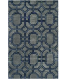 RugStudio presents Safavieh Soho SOH414A Grey / Dark Blue Area Rug