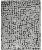 RugStudio presents Safavieh Soho Soh431a Silver / Grey Hand-Tufted, Best Quality Area Rug