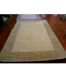 RugStudio presents Safavieh Soho Soh439a Beige / Dark Beig Hand-Tufted, Better Quality Area Rug